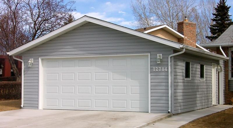 New Gable style garage